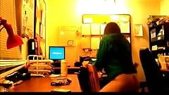 College girl fucked from behind in dorm room