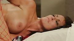 Hot Mom Regan With Big Boobs Gets A Christmas Present