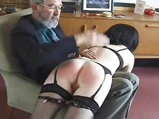 Ladies bottoms spanked Mrs.jiggle bottom