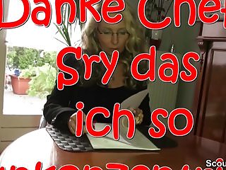 Chef adult comix Geile deutsche milf mit mega titten fickt mit ihrem chef