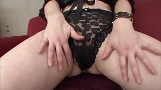 POONTANG, Mature with Nice Tits is Fucked on Couch