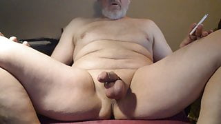 smooth cock and balls in tight cock ring play