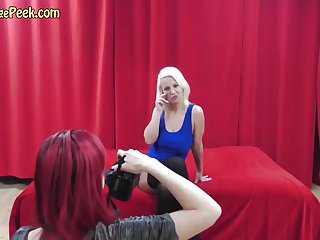 Hot naked and horny - Blond bitch naked and horny