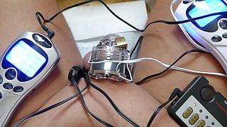 chastity belt with e-stim
