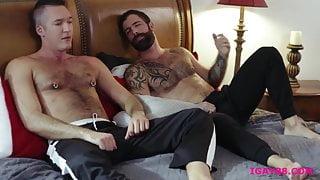Beautiful hairy masculine men!
