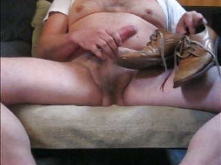 Shoe cock Dressdress leather shoes wank and cumshot, compilation