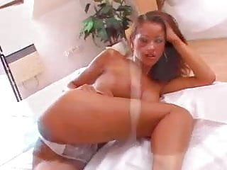 Angel dark double blowjob Angel dark with black cocks