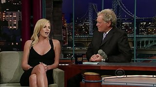 Charlize Theron - Late Show with David Letterman (2008)