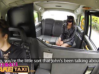 Female paraplegic orgasm videos Female fake taxi masked horny minx in slutty fishnets cheats