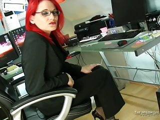 Shoe tgp Cum in business shoes