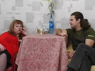 Plump big tit redhead - Redhead plump stepmom with hairy pubis guy