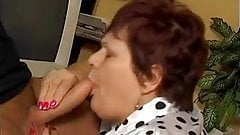 Fat mature fucks with young