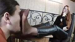 Mistress Victoria Boot and Foot Worship Part 2