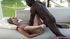 Glamcore babe gets anally fucked by bbc