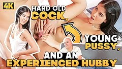 OLD4K. Brunette Madelina Dee gets in hands of experienced