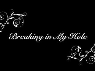 Piss in my hole Breaking in my hole teaser 1