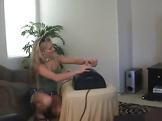 First ride on sex Dias first sybian ride