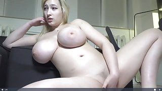 Huge Fat Tits, Horny Camgirl