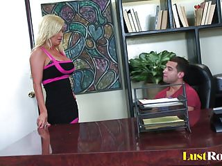 Big tits boss voloume diamond foxx Busty blonde diamond foxx is ready for action