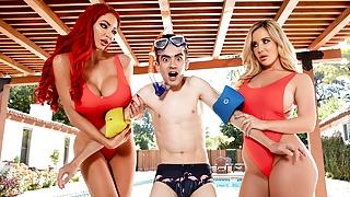 Big Tits Save Lives! Nicolette Shea – full scene at ebrazz.tv