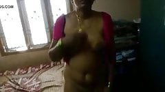 Cute Telugu aunty sex with neighbour