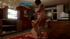 3D Shemale Compilation - MILF Mommy fucks Sissy Guy in Ass