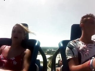 Opposing views on porn Roller coaster great view