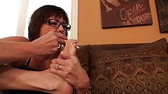 Foot Play With Sigarette