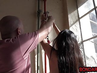Tied spanked and fucked - Skinny tied gets tied,spanked and tortured with a vibrator