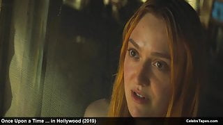 Celebs Dakota Fanning & Margot Robbie sexy movie scenes