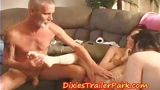 STEP DADDYS, Swinger Family goes BI and shares COCK CUM and PUSSY