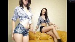 Sexys mujeres bailando - Striptease WEBCAM!!