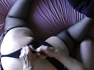 Blonde bbw short clips - Three short clips of my pretty wifes bare bum