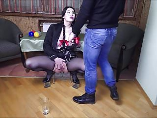 Anal creampie prolapse - Deepthroat, pissing, gaping and prolapse for dirty whore