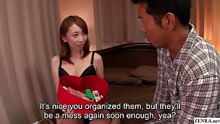 JAV wife Aya Kisaki uncensored blowjob foreplay Subtitled