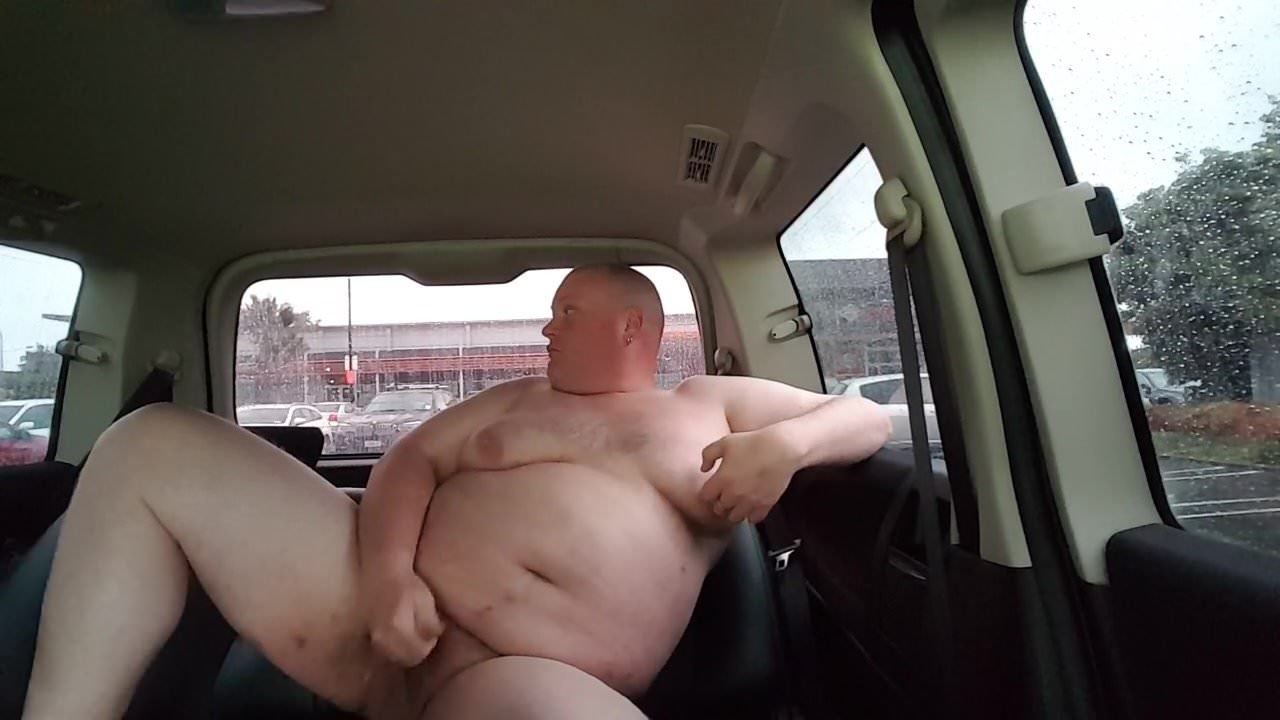 Public Masturbation Caught Car