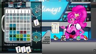 Slime Girl Mixer Hentai cute game Ep.2 milking nude waitress