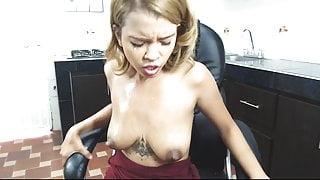 Sexy Latina Lactating