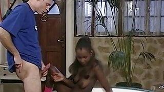 OLD GERMAN MAN VS BLACK GIRL