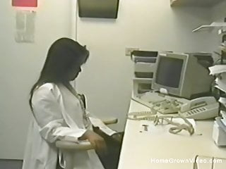 Nurse fucked at office Asian nurse caught masturbating in her office with toys