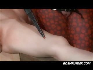Electro tourtre vaginal play vidoe clips - Lezdom electro play and whipping