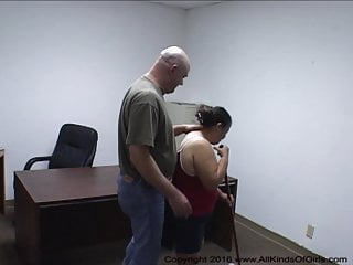 Coping sexual abuse Mexican granny maid gets anal abused