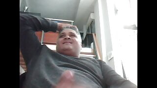 Fat latin daddy cums for the girls