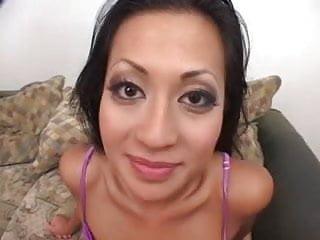 Different vaginal taste Asian bitch loves to taste different loads of sperm