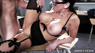 Horny college prof Audrey Bitoni steals her student from his