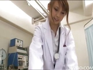 Unusual sexual practices - Horny nurse ebihara arisa gives her male patient an unusual