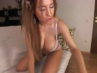 Webcam strip free - Stunning brunette webcam strip tease
