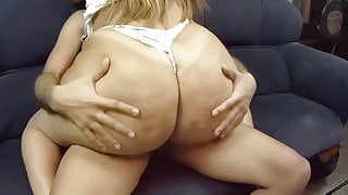 Fucking With Thick Latina On The Couch