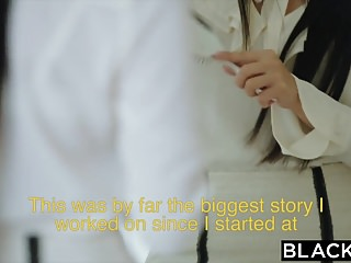 Mature world porn videos - Blacked japanese journalist vs the biggest bbc in the world