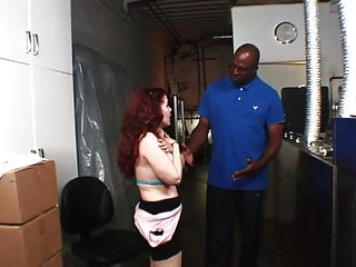 Titty fuck video samples - Busty brunette gives hard titty fuck to hung black guy
